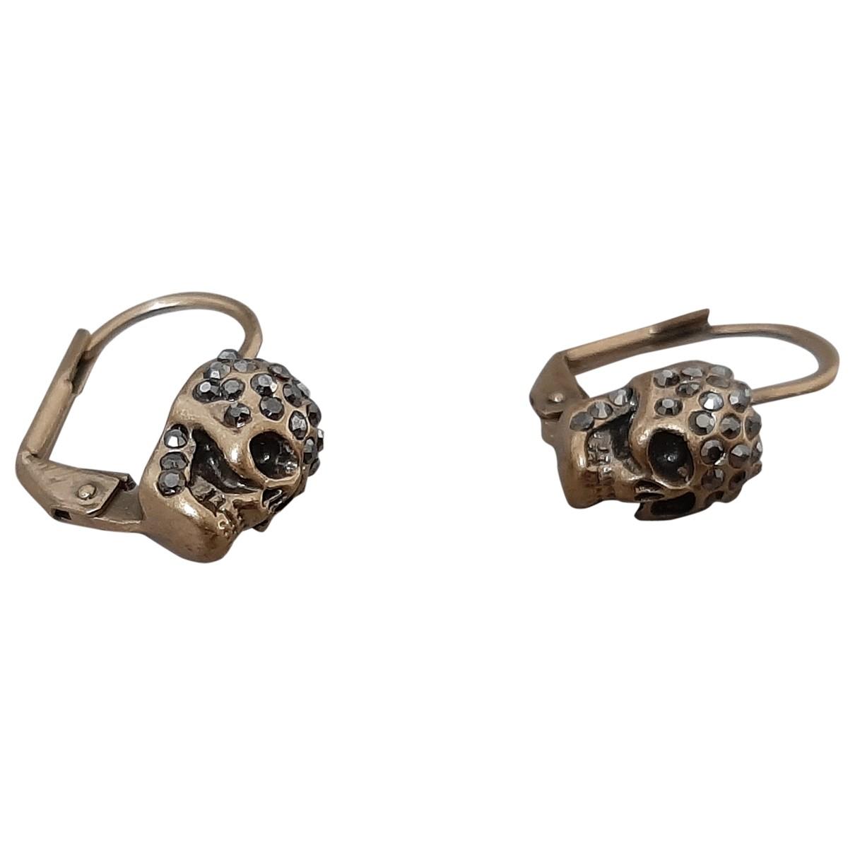 Alexander Mcqueen \N Gold Metal Earrings for Women \N