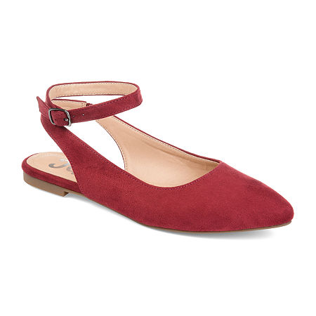 Journee Collection Womens Preea Slip-On Shoe, 11 Medium, Red