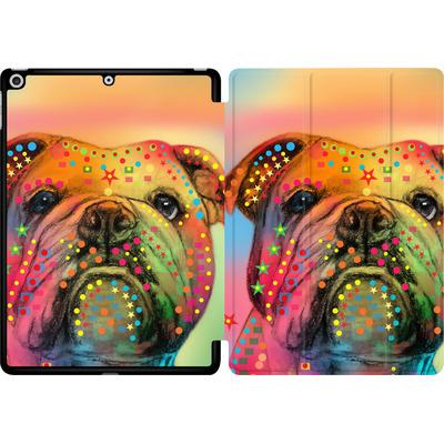Apple iPad 9.7 (2018) Tablet Smart Case - Bulldog von Mark Ashkenazi