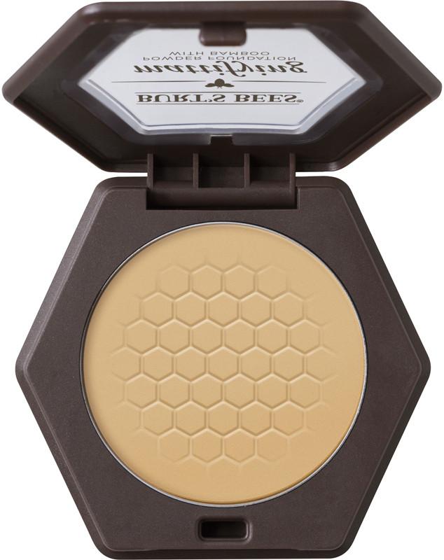 Mattifying Powder Foundation - Bamboo (medium to tan skin tones w/warm undertones)