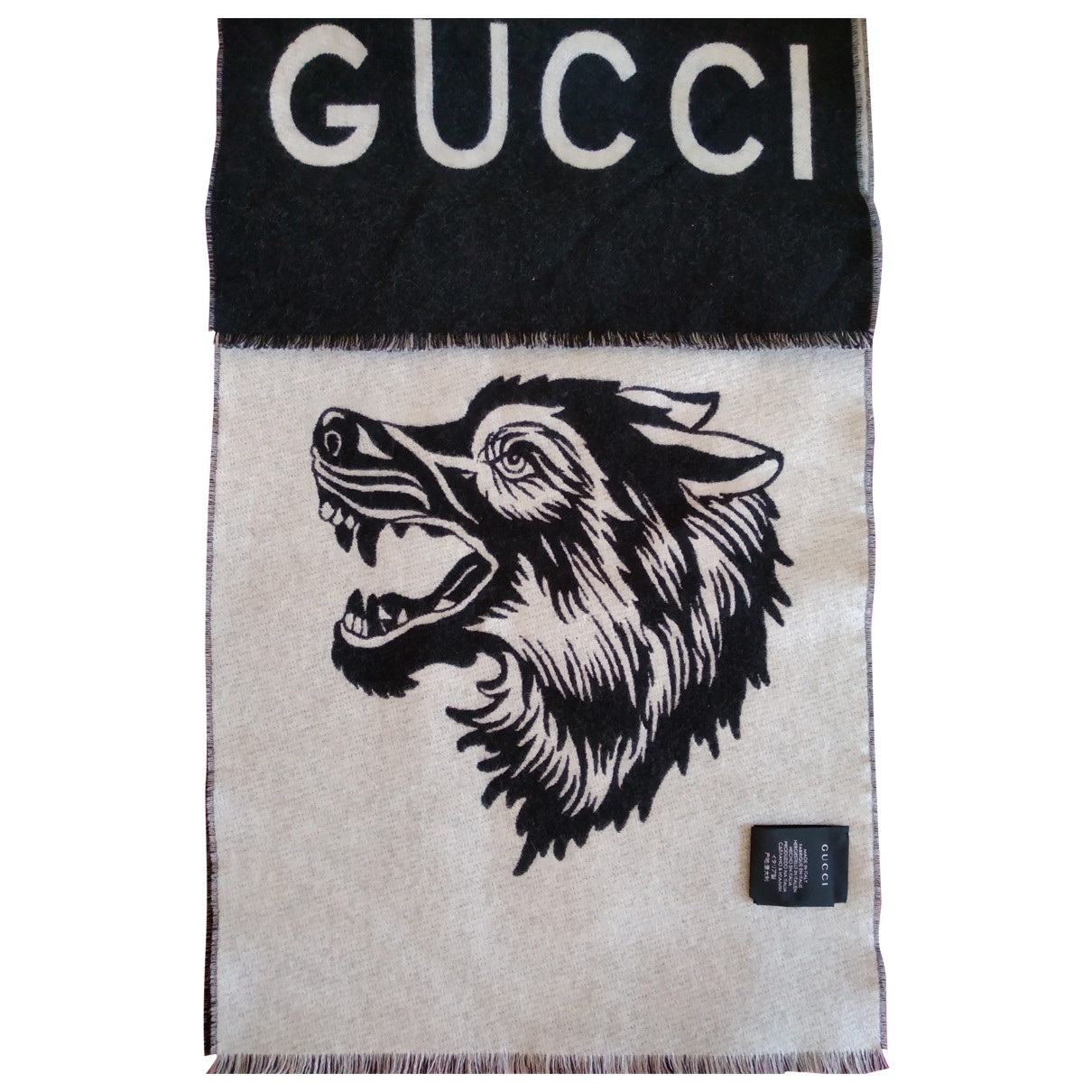 Bufanda de Lana Gucci