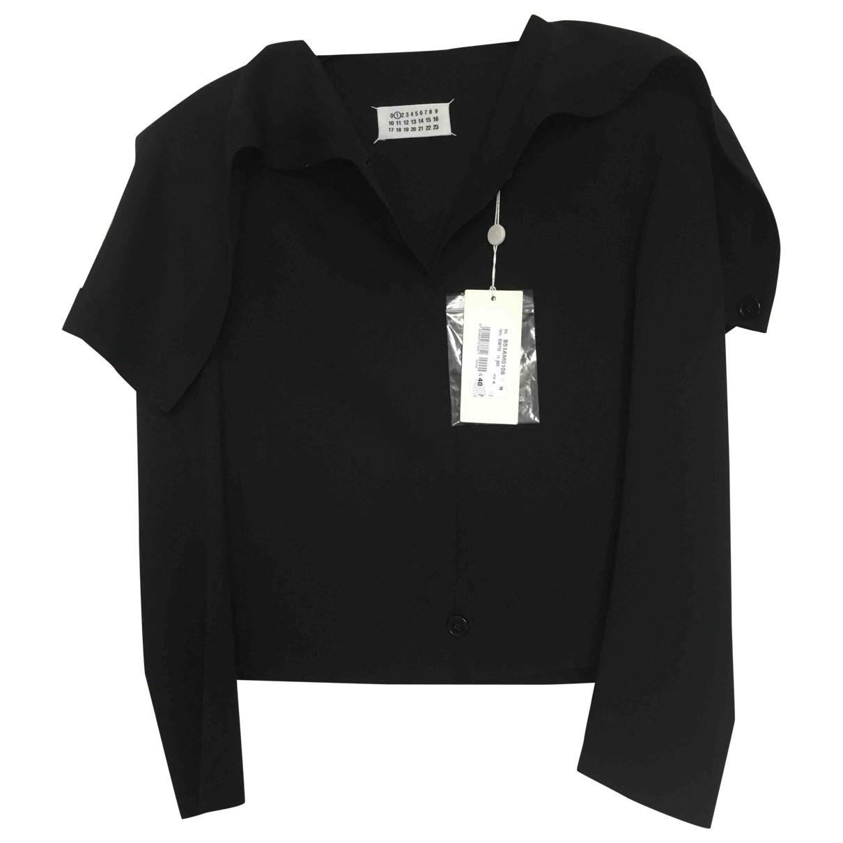 Maison Martin Margiela - Veste   pour femme en laine - noir