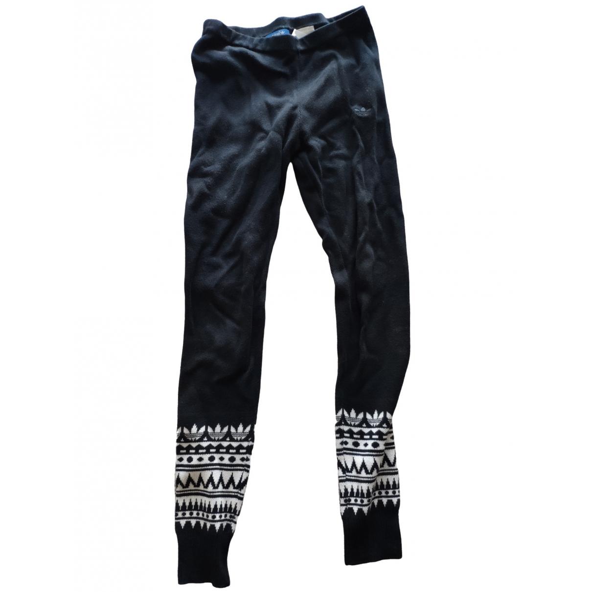 Pantalon en Sintetico Negro Adidas