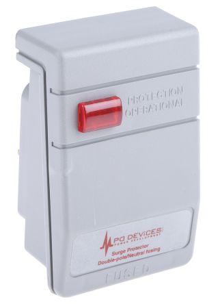 RS PRO 230 V ac Maximum Voltage Rating 13.5kA Maximum Surge Current Mains Protector