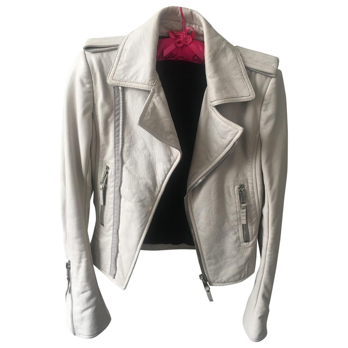 Balenciaga - Veste   pour femme en cuir