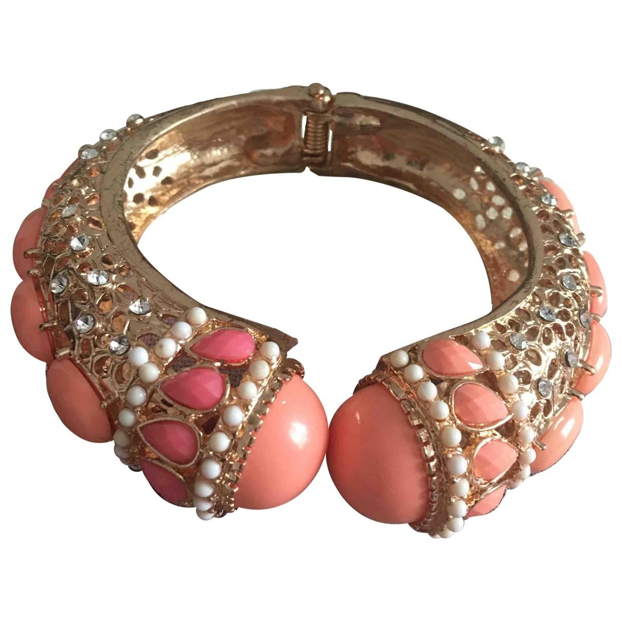 Non Signé / Unsigned Art Déco Multicolour Metal bracelet for Women \N