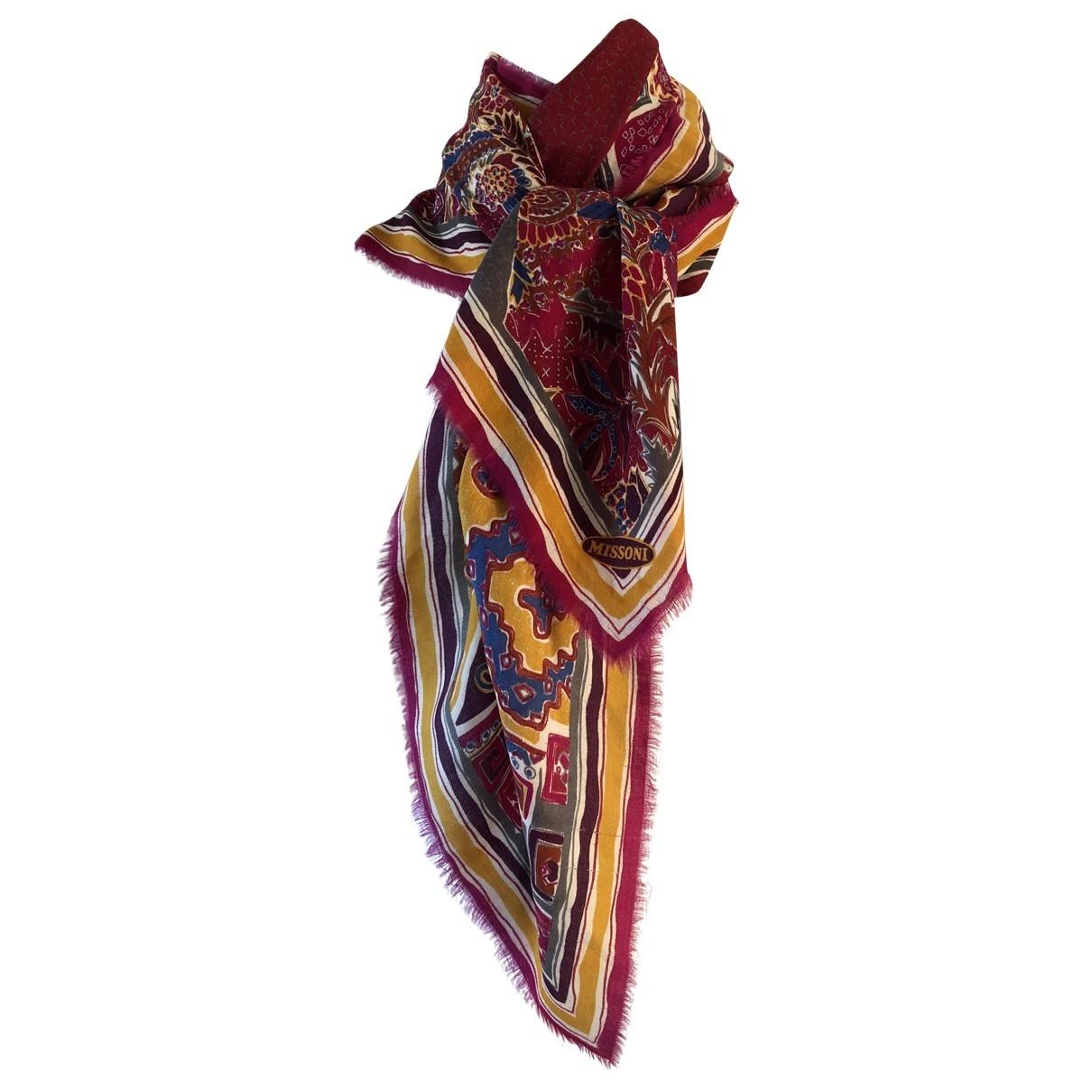 Pañuelo de Lana Missoni