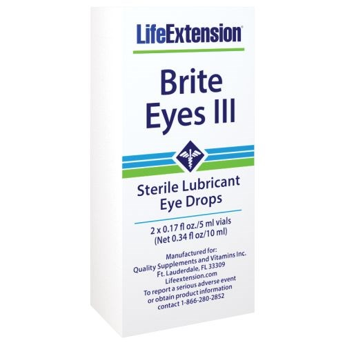 Brite Eyes III 2 vials by Life Extension