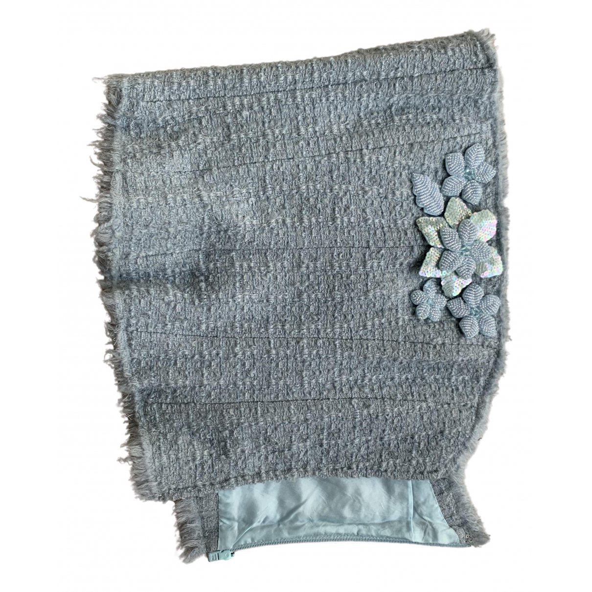 Moschino Cheap And Chic - Top   pour femme en laine - bleu