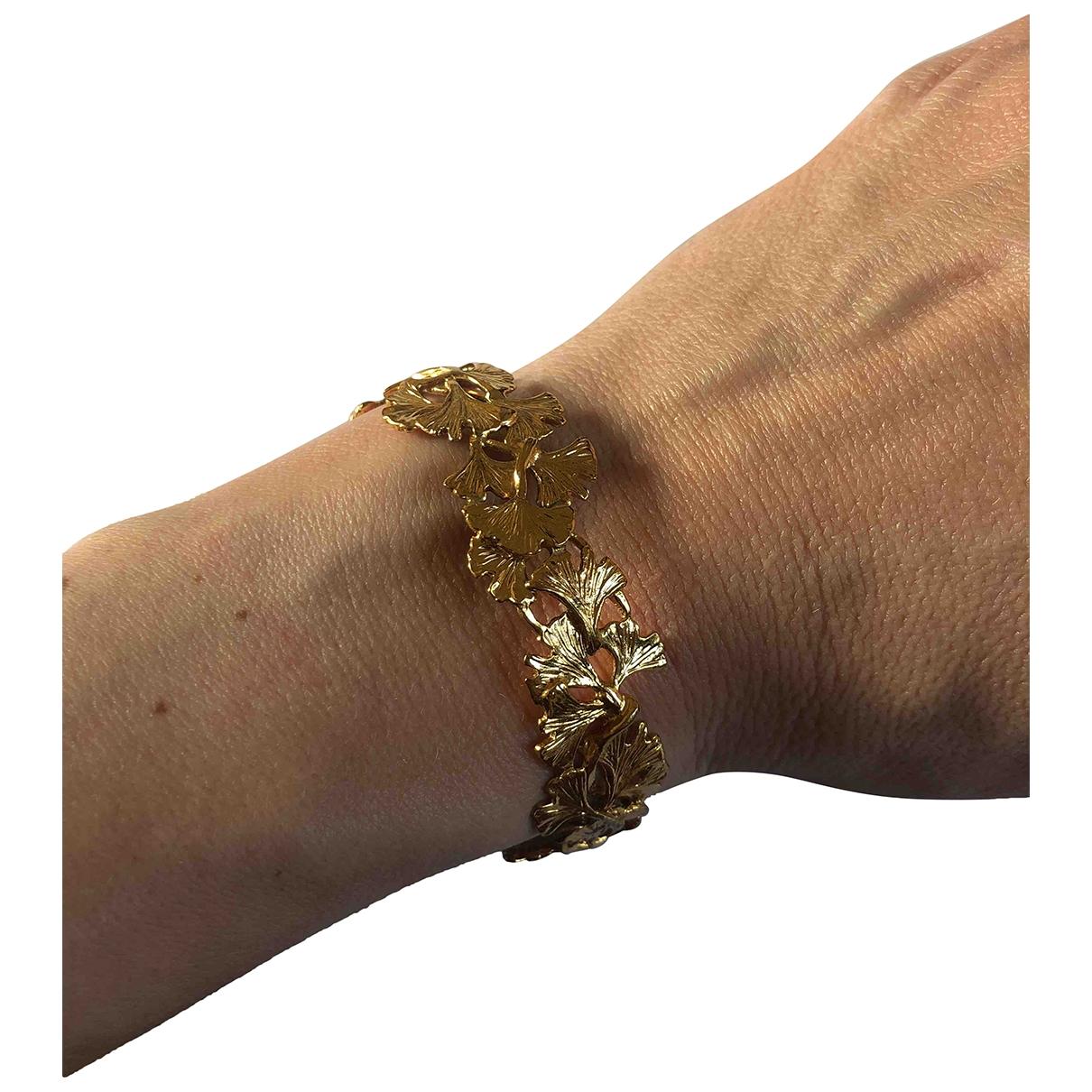 Aurelie Bidermann - Bracelet Tangerine pour femme en plaque or - jaune