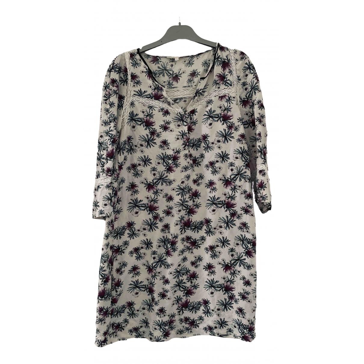 Maje Spring Summer 2019 White Cotton dress for Women 40 FR