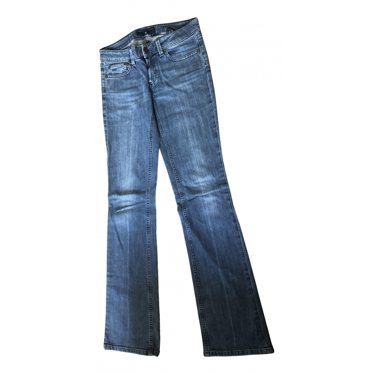 Marc By Marc Jacobs N Blue Cotton - elasthane Jeans for Women 26 US
