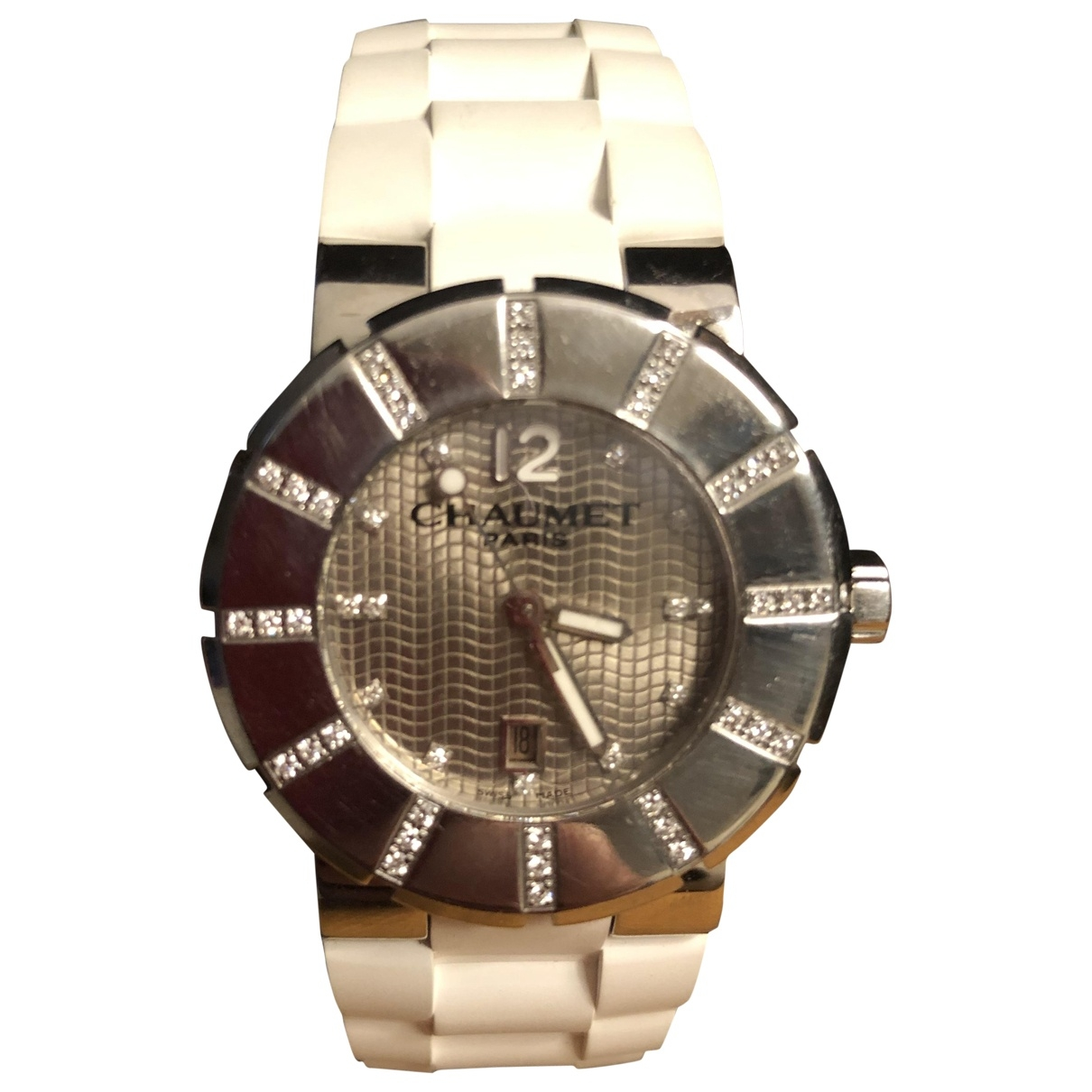 Chaumet Class One  Uhr in  Grau Stahl