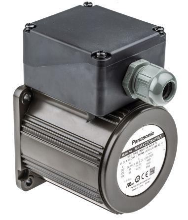 Panasonic M8M Reversible Induction AC Motor, 25 W, 3 Phase, 4 Pole, 230 V ac
