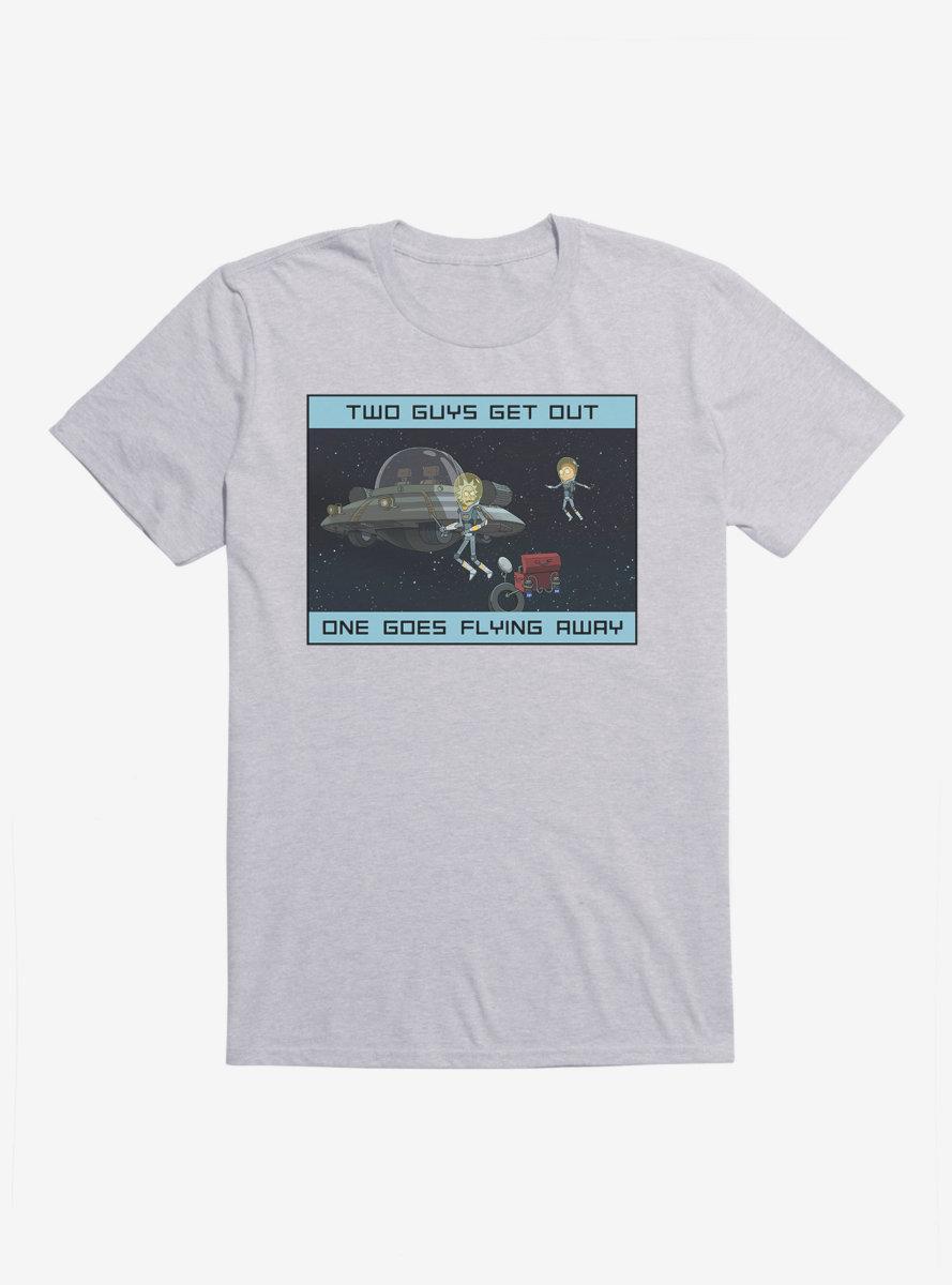 Rick And Morty Rattlestar Ricklactica T-Shirt