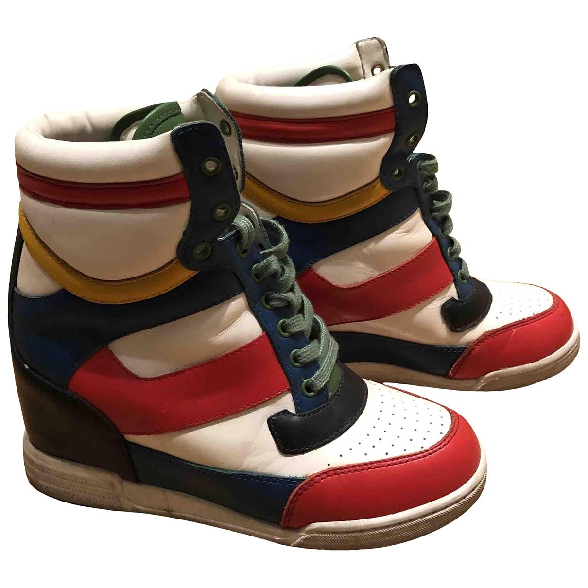 Marc By Marc Jacobs - Boots   pour femme en cuir - multicolore