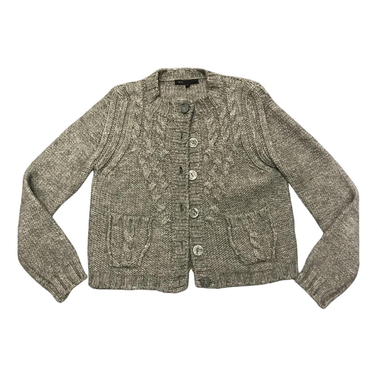 Maje \N Grey Wool Knitwear for Women S International