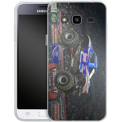 Samsung Galaxy J3 (2016) Silikon Handyhuelle - Bigfoot Jump von Bigfoot 4x4