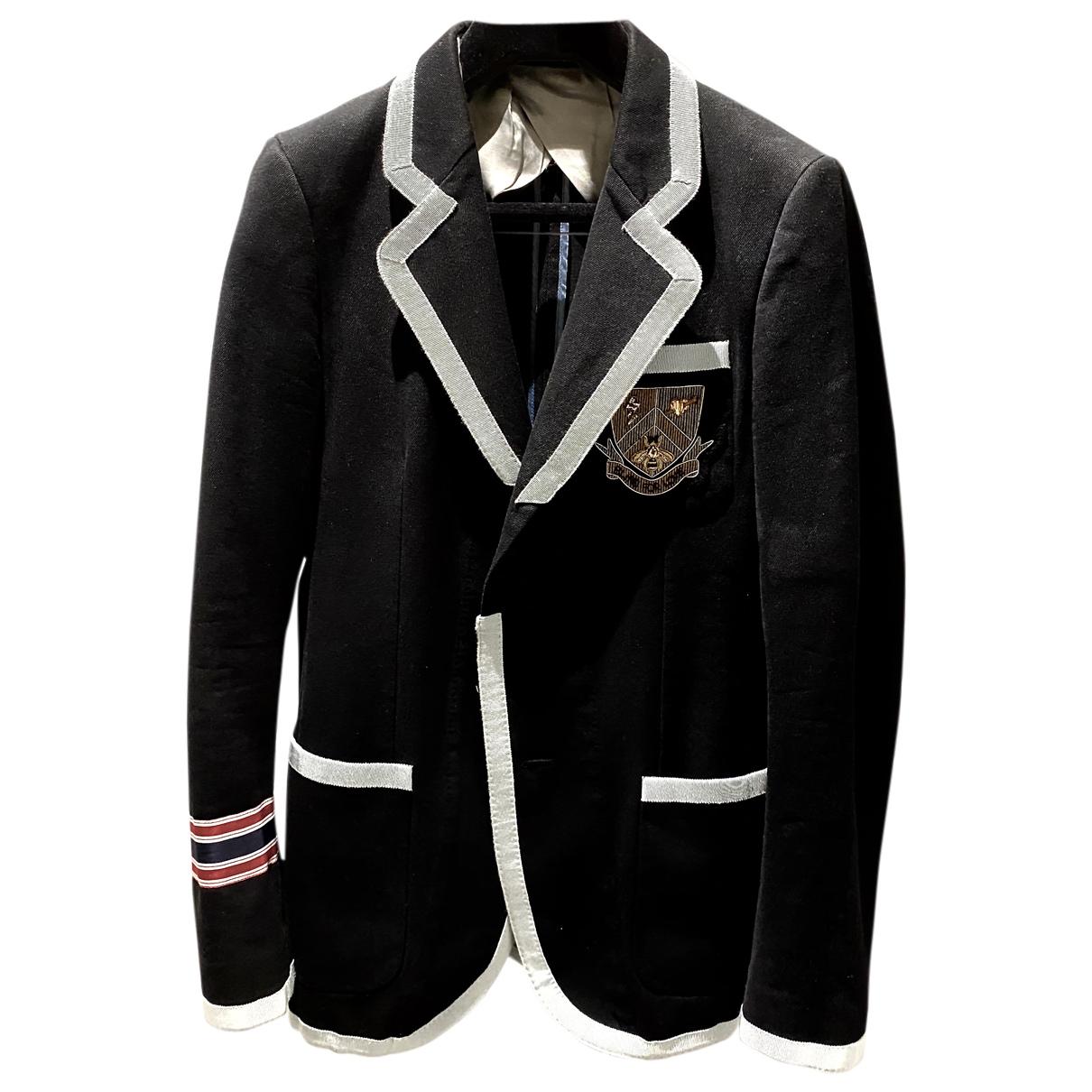 Gucci - Vestes.Blousons   pour homme en laine - marine