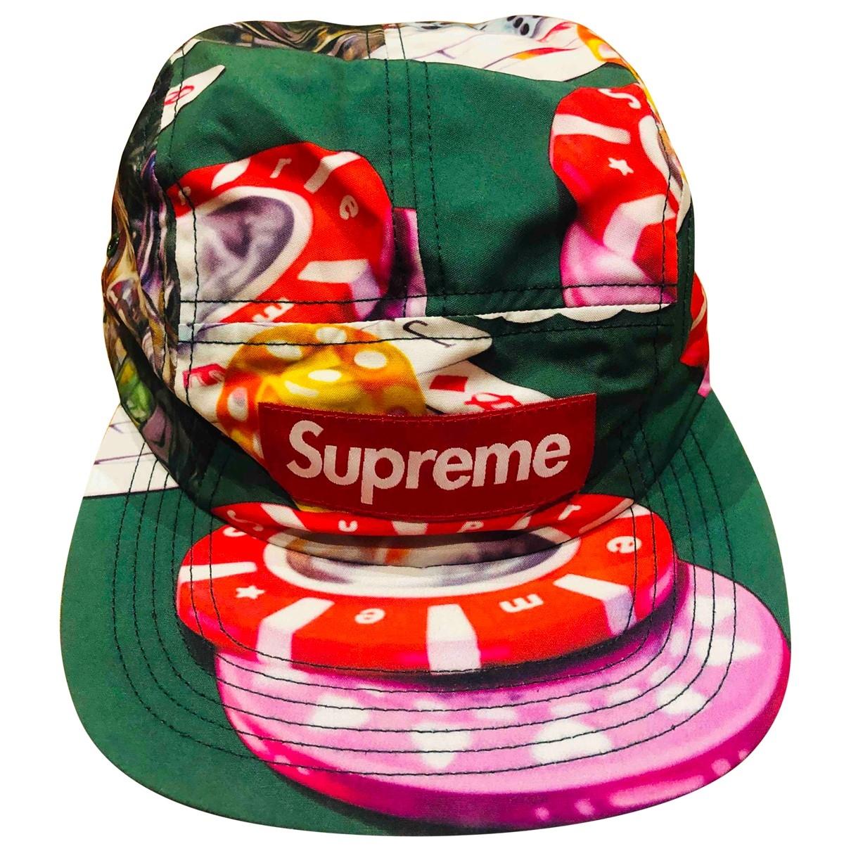 Supreme - Chapeau & Bonnets   pour homme - vert