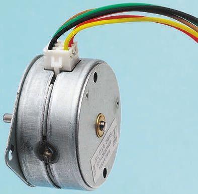 McLennan Servo Supplies Unipolar Permanent Magnet Stepper Motor 7.5°, 25mNm, 12 V dc, 180 mA