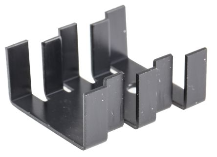 Fischer Elektronik Heatsink, 15K/W, 30 x 25.4 x 13mm, Black