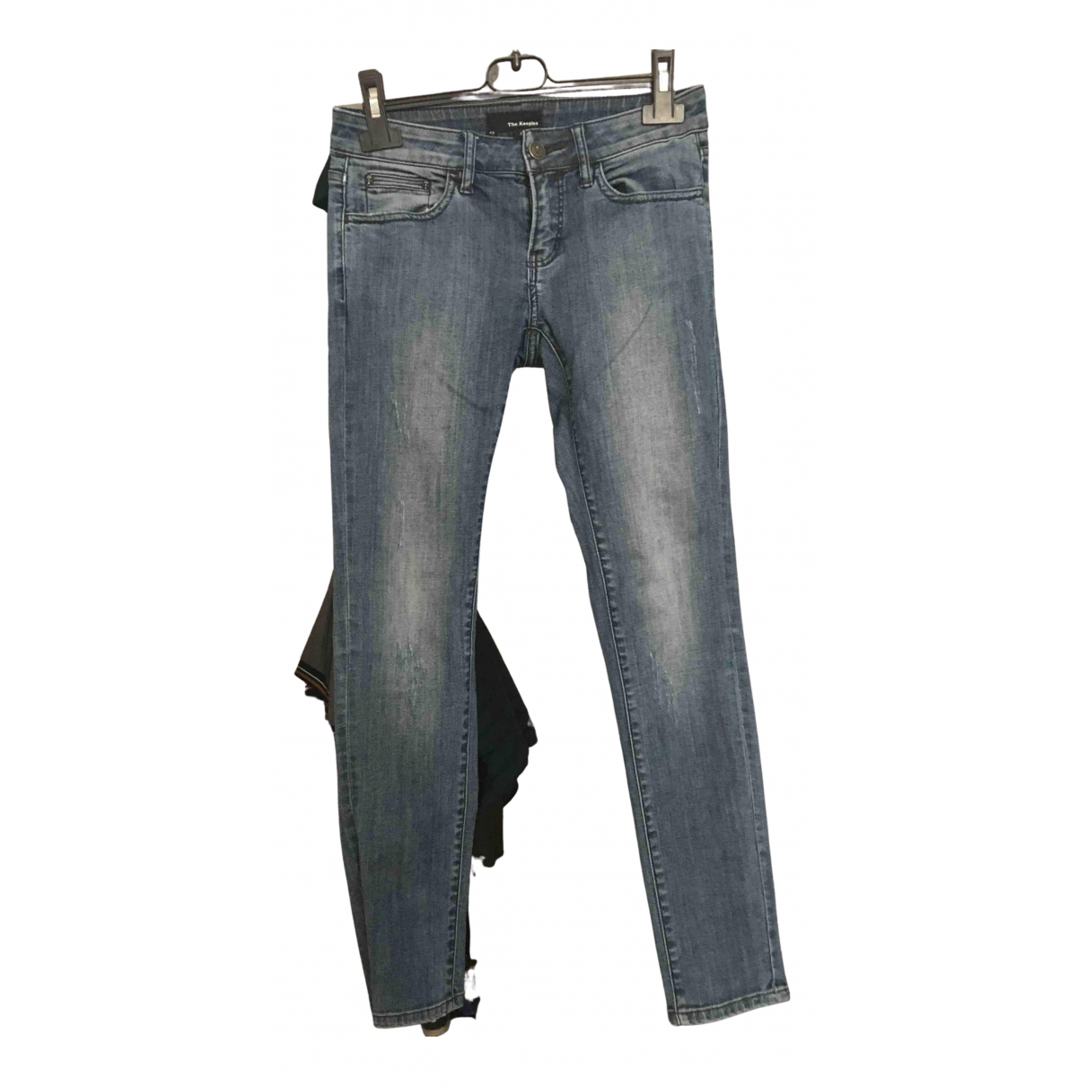 The Kooples N Blue Denim - Jeans Trousers for Women 36 FR