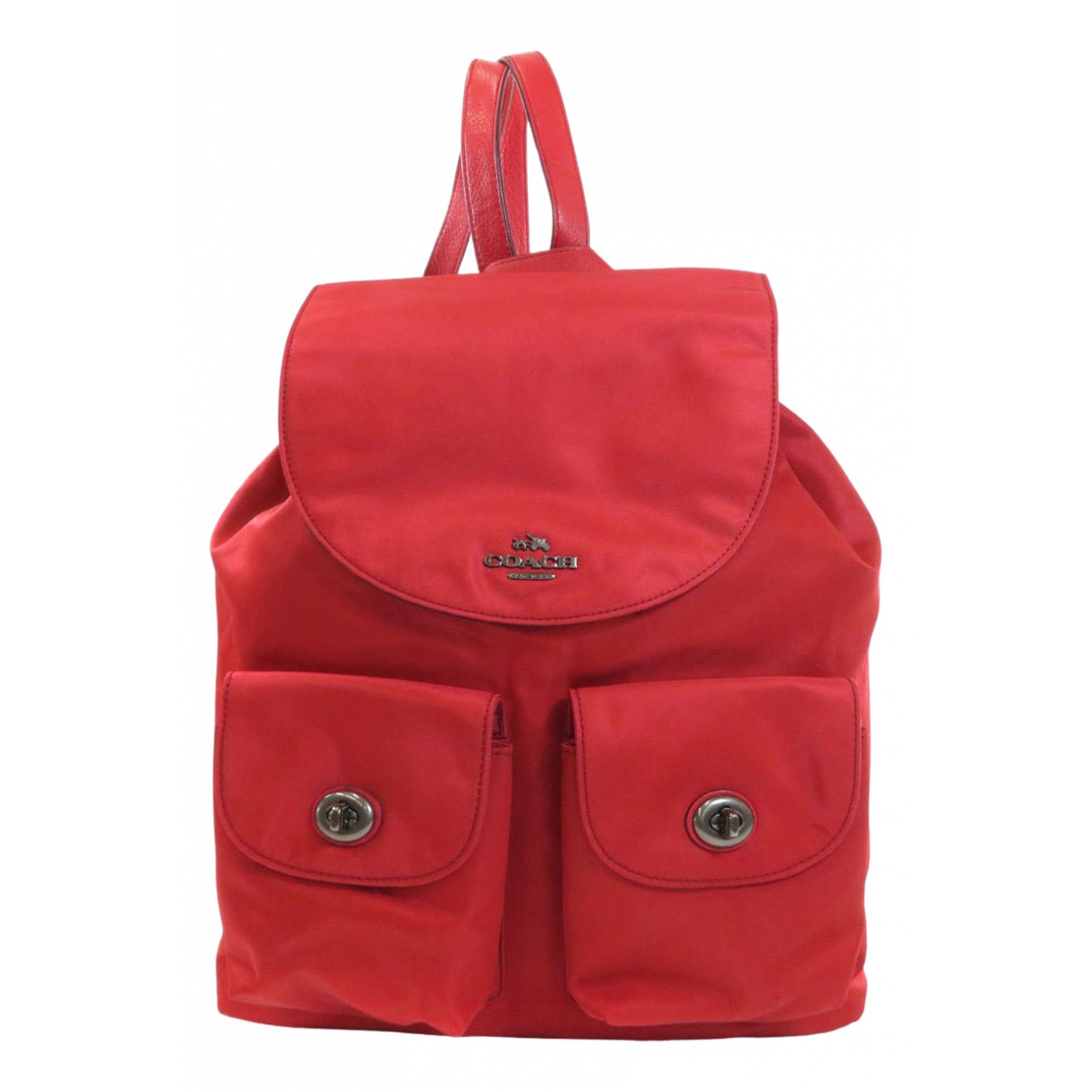 Coach \N Red Leather backpack for Women \N