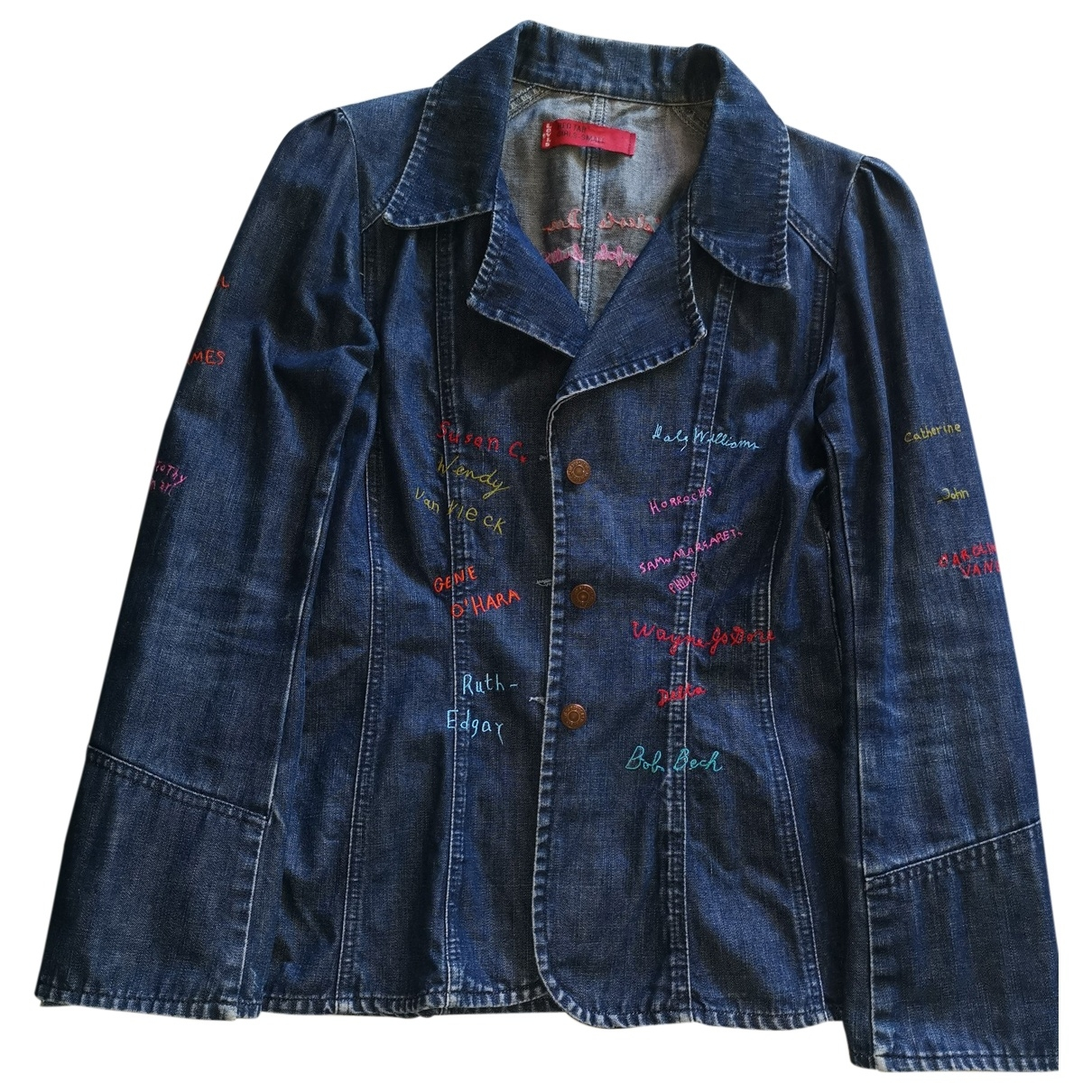 Levis \N Blue Denim - Jeans jacket for Women M International
