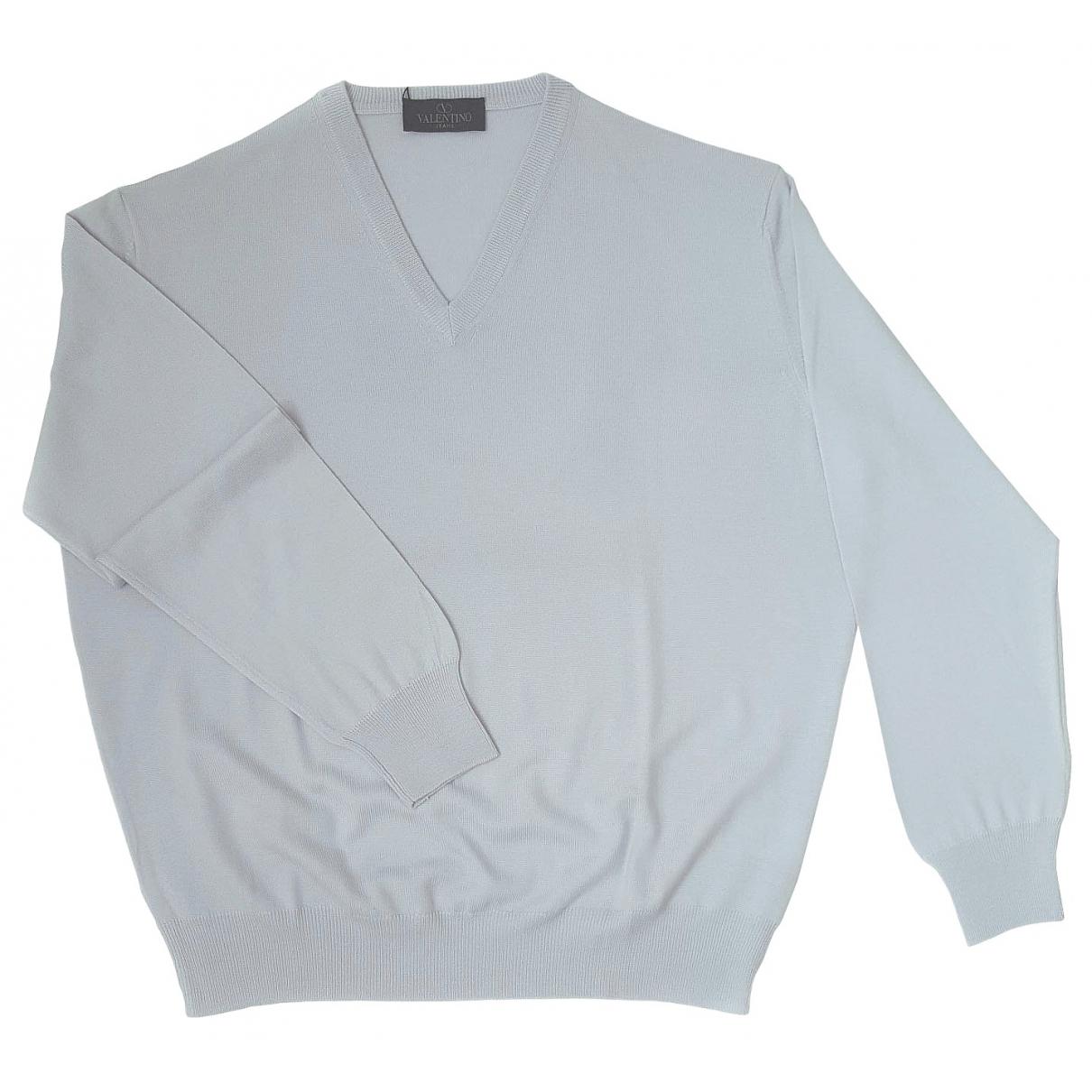 Valentino Garavani \N Turquoise Wool Knitwear & Sweatshirts for Men 50 IT