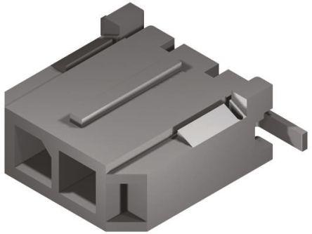 Molex , Micro-Fit 3.0, 43650, 2 Way, 1 Row, Straight PCB Header (5)