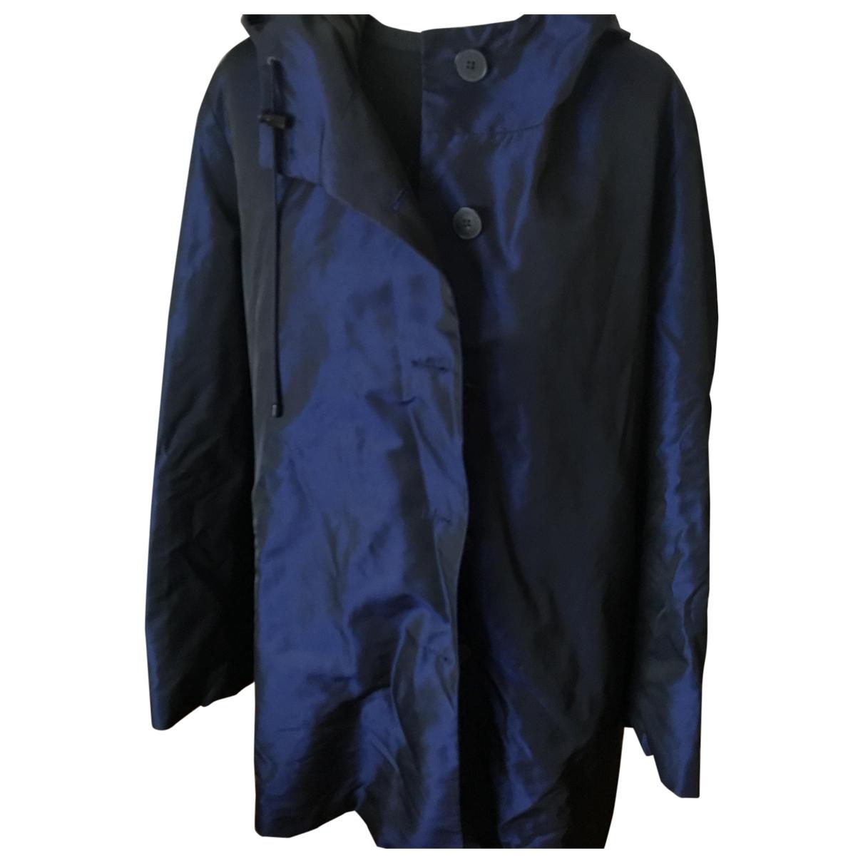 Jil Sander - Manteau   pour femme - bleu