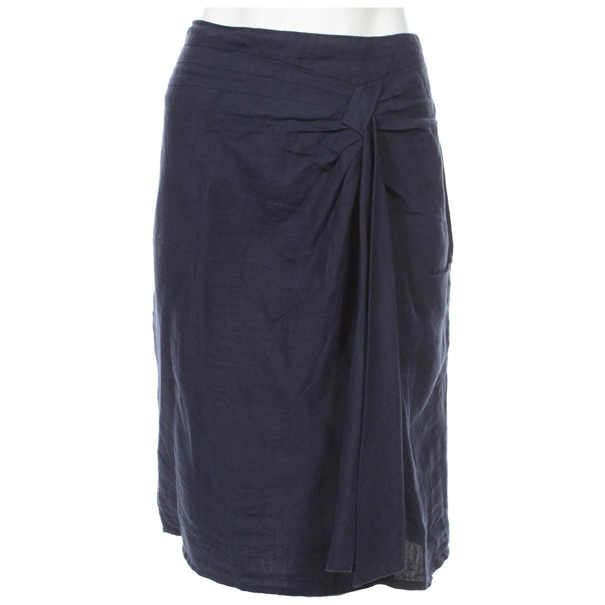 Mini falda de Lino Max Mara Weekend