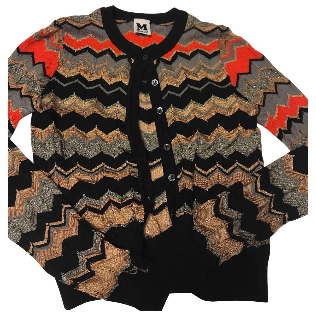 M Missoni - Pull   pour femme en laine - multicolore