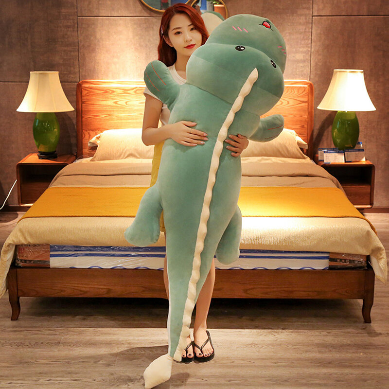 Cute Dinosaur Plush Toy Soft Cartoon Animal Dinosaur Stuffed Doll Pillow