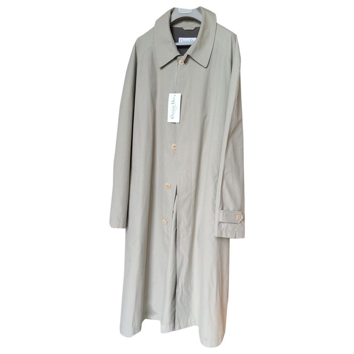 Dior \N Maentel in  Beige Baumwolle