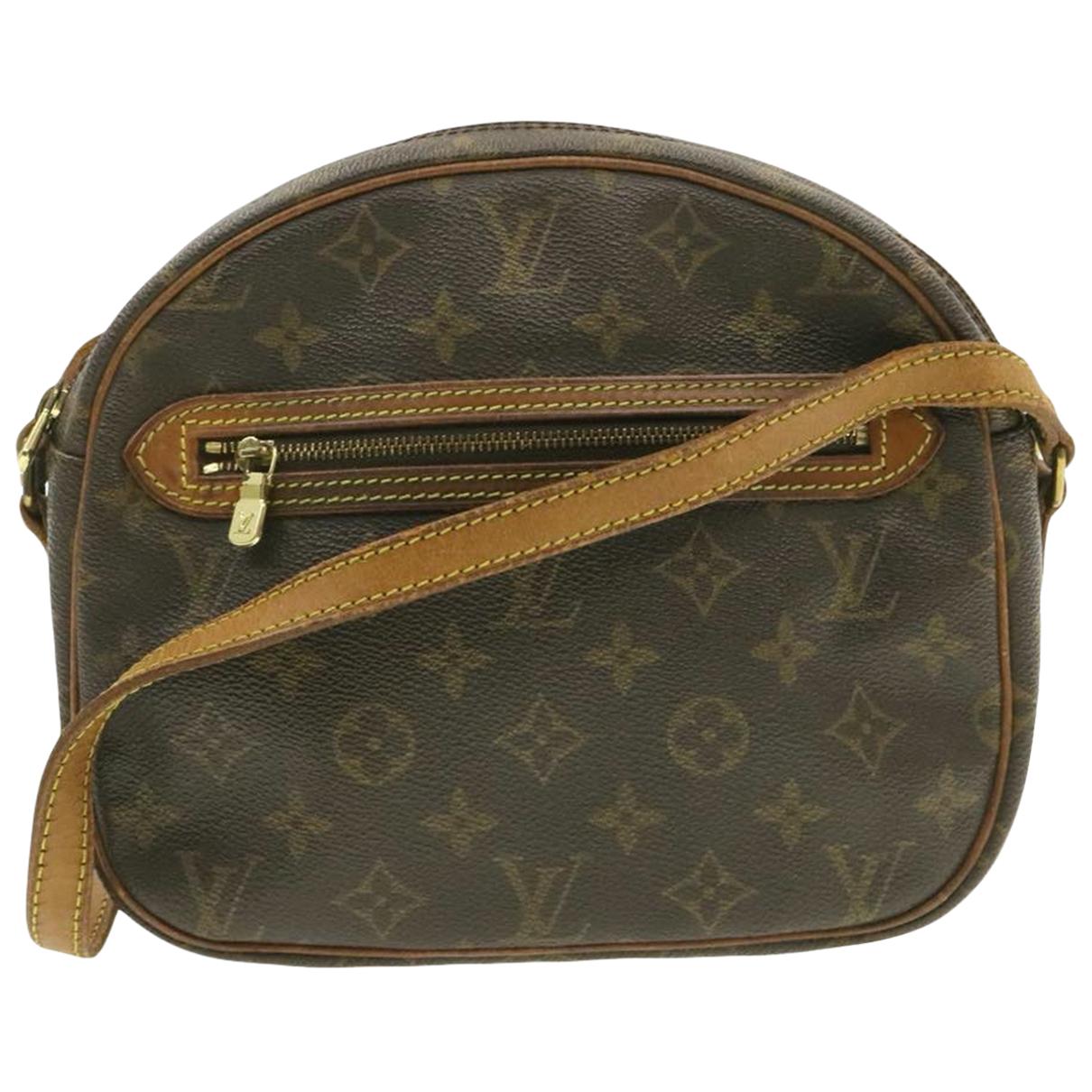 Louis Vuitton Senlis  Brown Cloth handbag for Women N