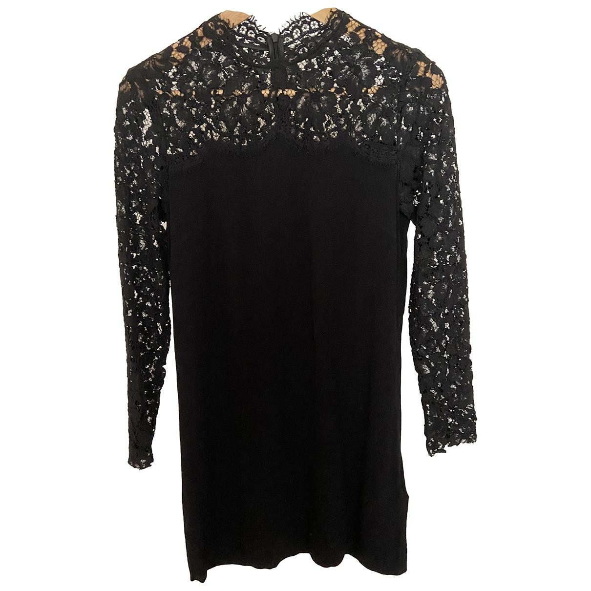 Sandro \N Black Lace dress for Women 34 FR