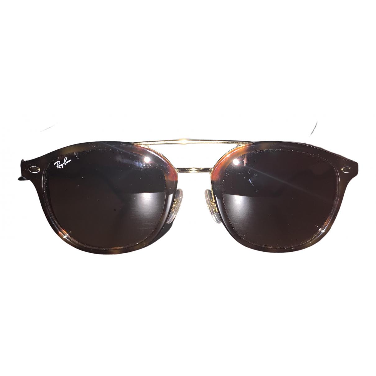 Ray-ban \N Sonnenbrillen in  Braun Kunststoff
