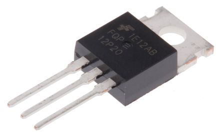 ON Semiconductor P-Channel MOSFET, 11.5 A, 200 V, 3-Pin TO-220AB  FQP12P20 (5)