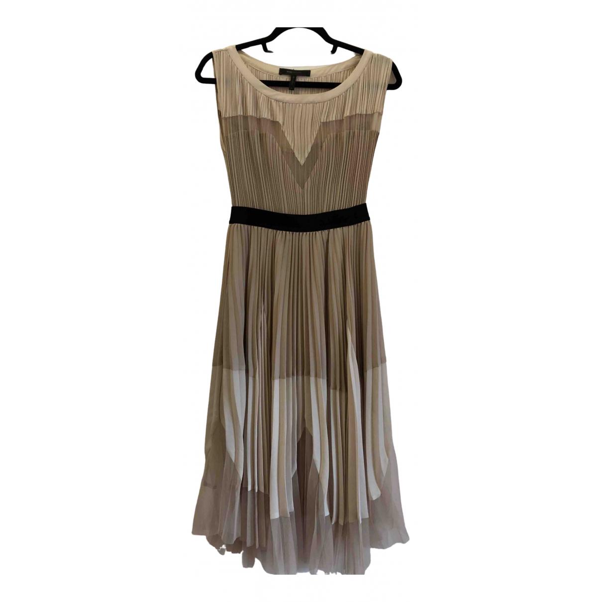 Bcbg Max Azria - Robe   pour femme - beige
