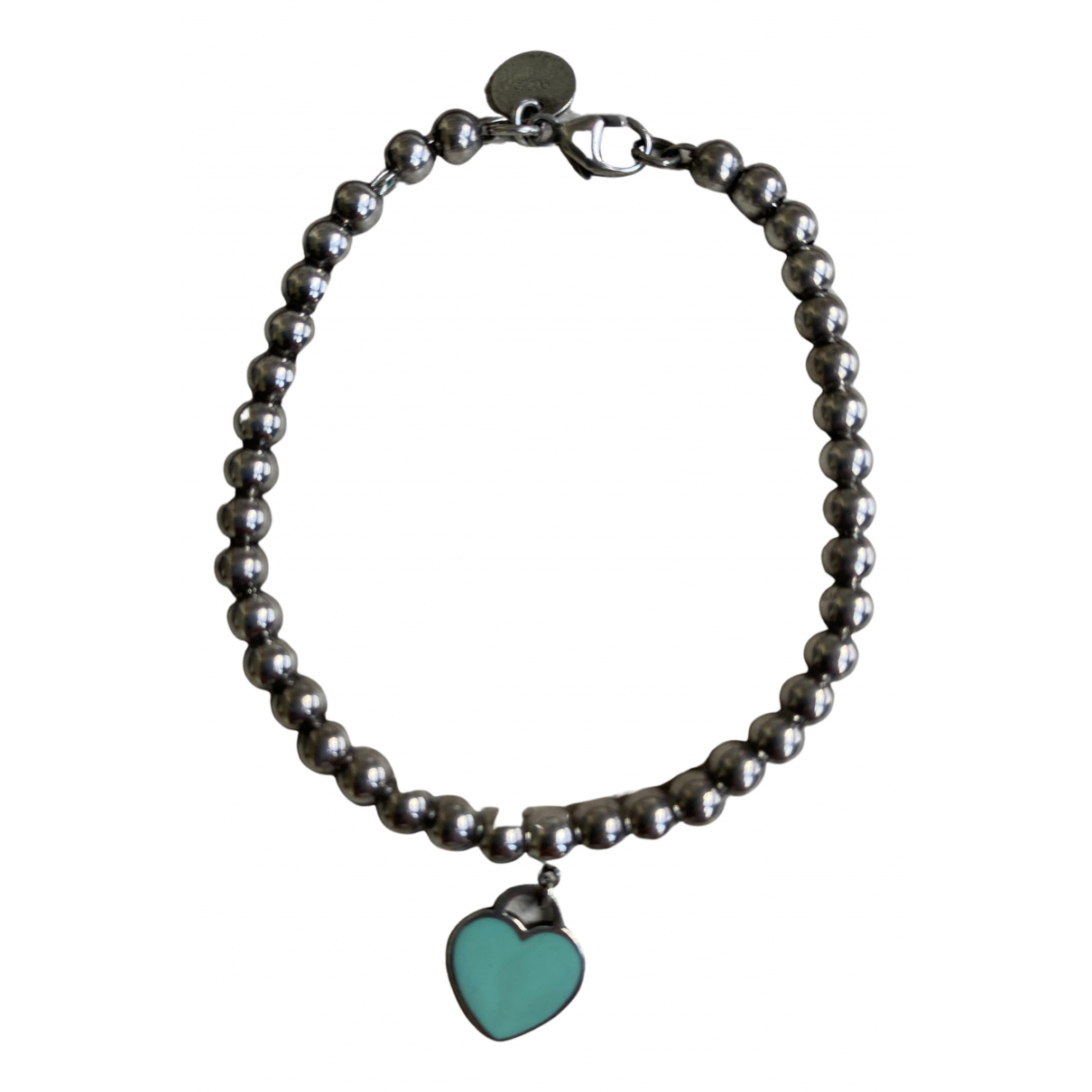 Tiffany & Co Return to Tiffany Turquoise Silver bracelet for Women N