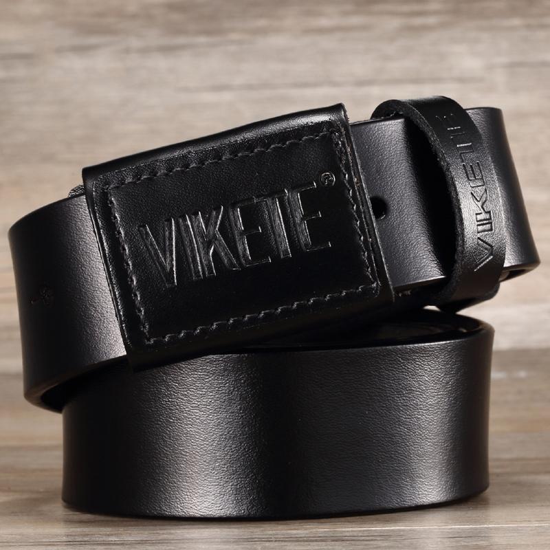 Ericdress Cowhide Pin Buckle Men's Genuine Leather Belt