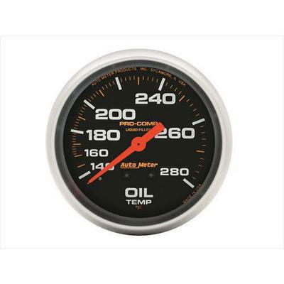 Auto Meter Pro-Comp Liquid-Filled Mechanical Oil Temperature Gauge - 5443
