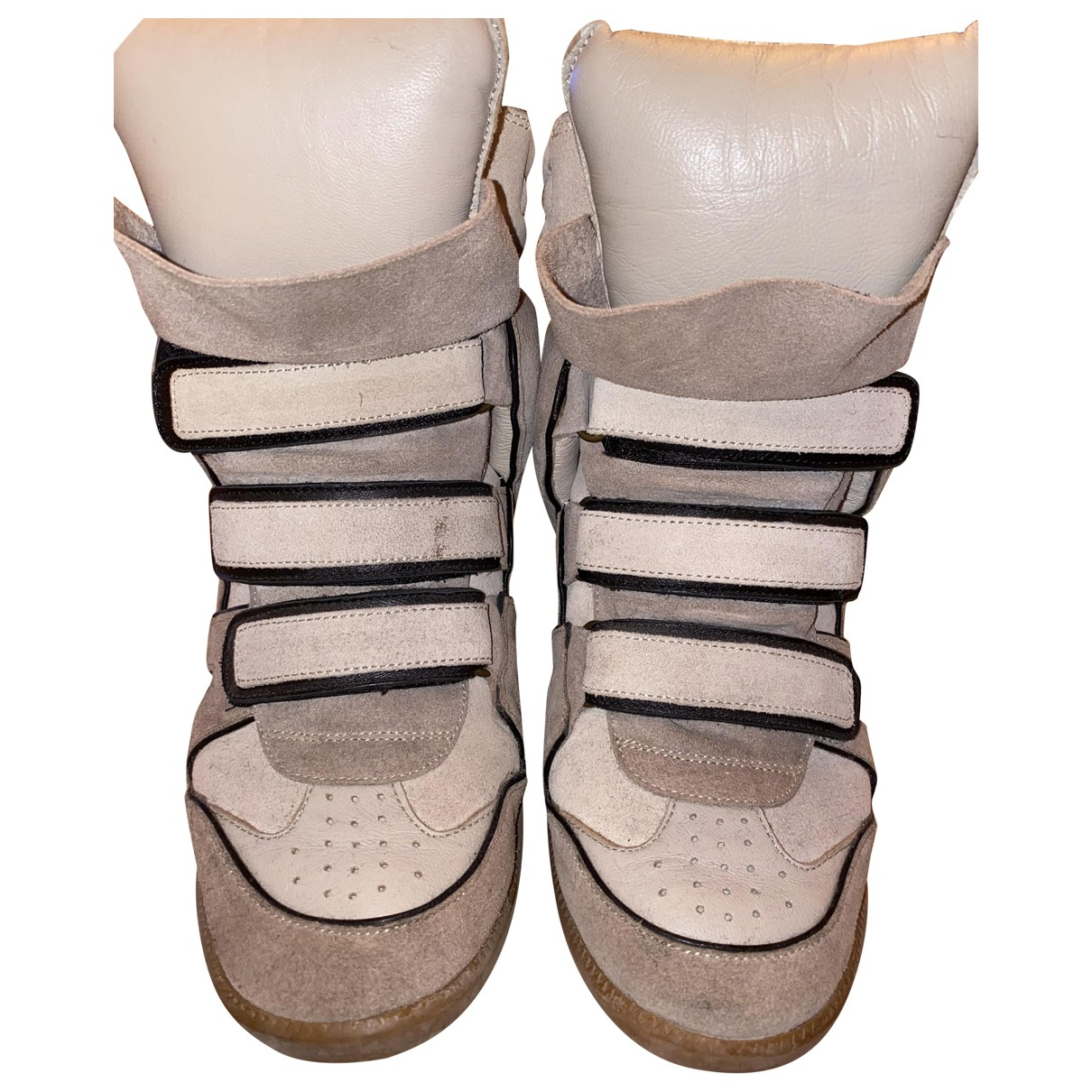 Isabel Marant \N Sneakers in  Beige Leder