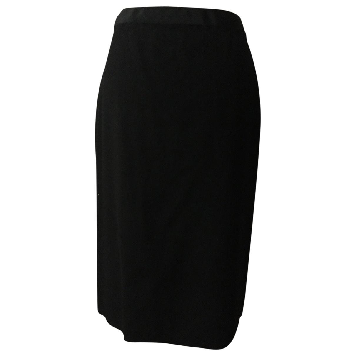 Lanvin \N Black Wool skirt for Women 38 FR