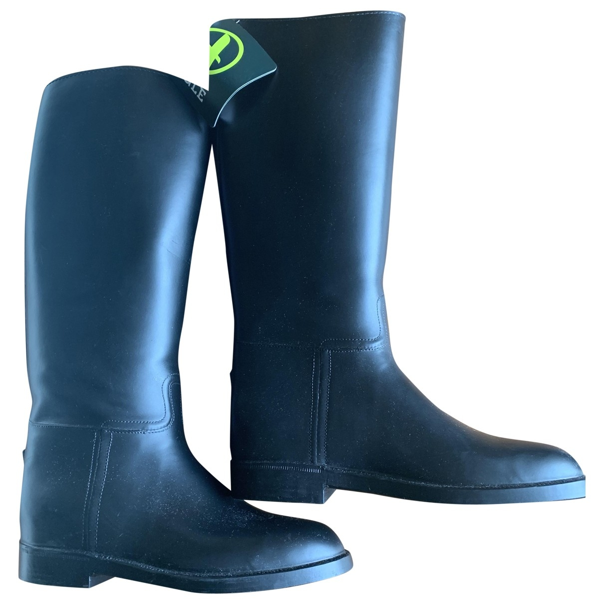 Aigle \N Black Rubber Boots for Women 39 EU