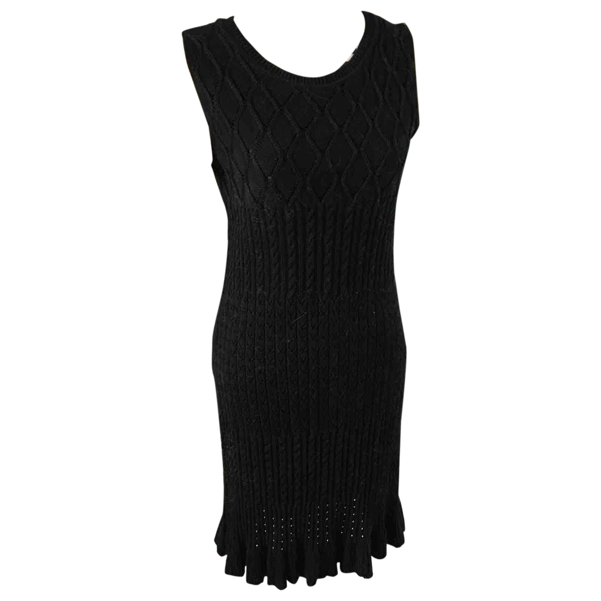 Moschino Cheap And Chic \N Black Wool dress for Women 38 FR