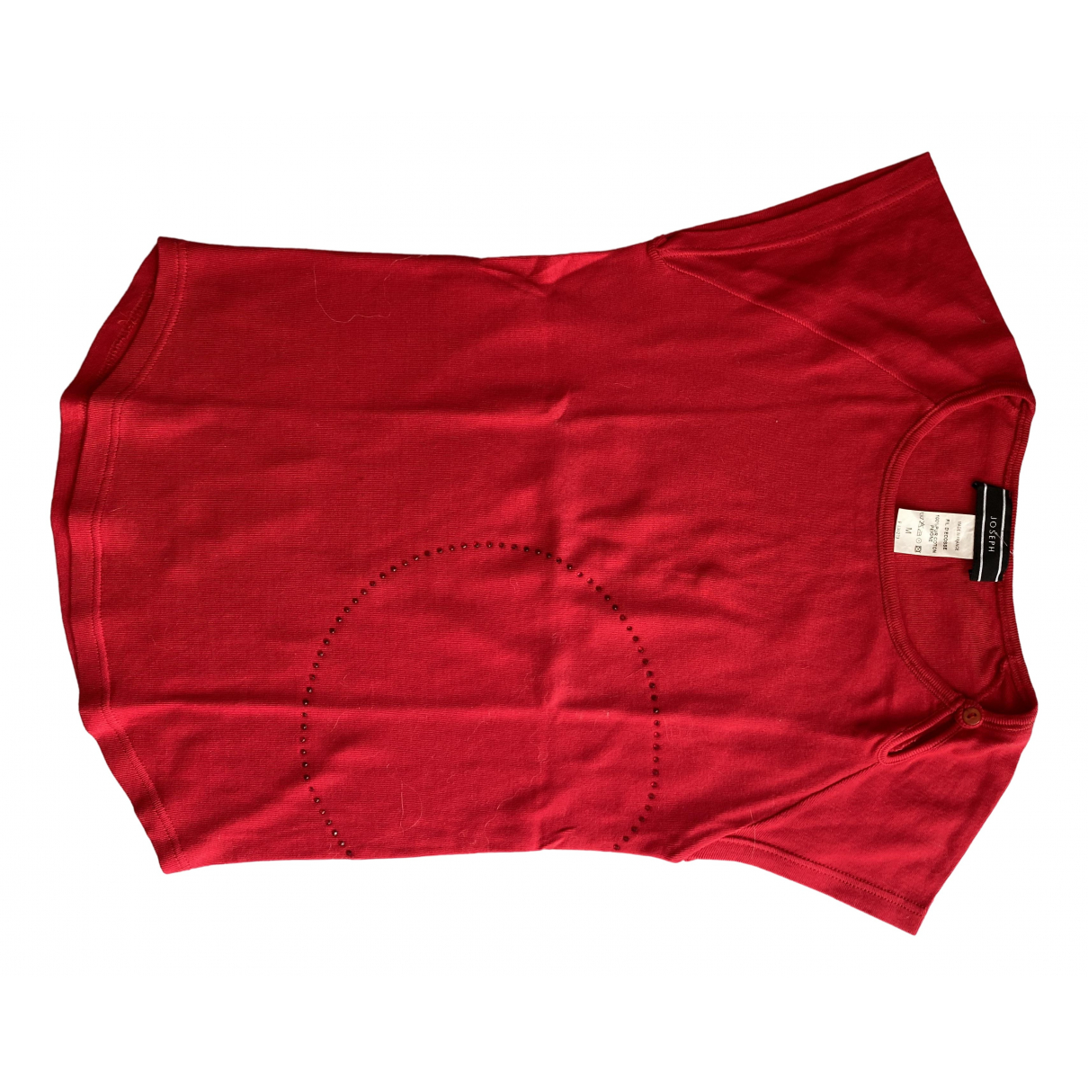 Joseph \N Red Cotton  top for Women 38 FR
