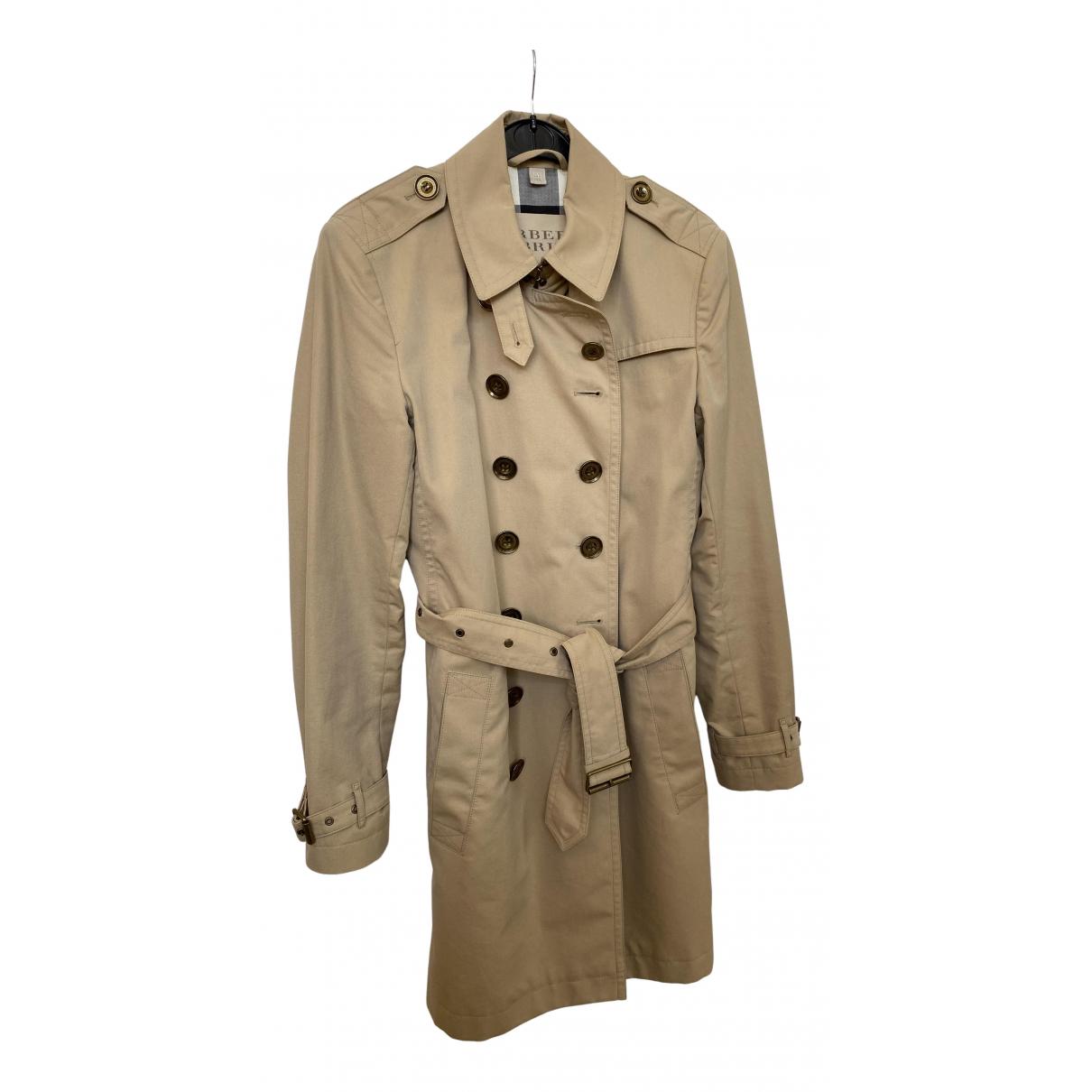 Burberry N Beige Cotton Trench coat for Women 10 UK